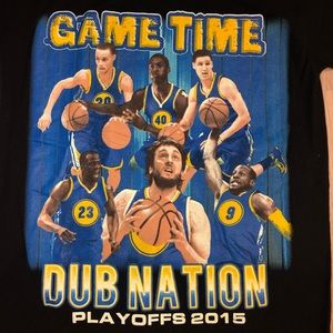 Other - Rare Golden State Warriors 2015 Playoff T-shirt. S